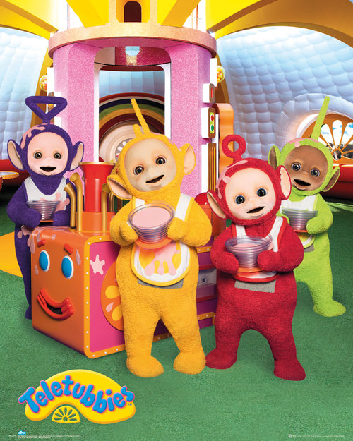 Teletubbies Custard Mini Poster