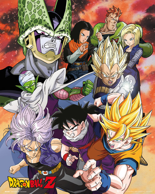 Dragon Ball Z Cell Saga Mini Poster