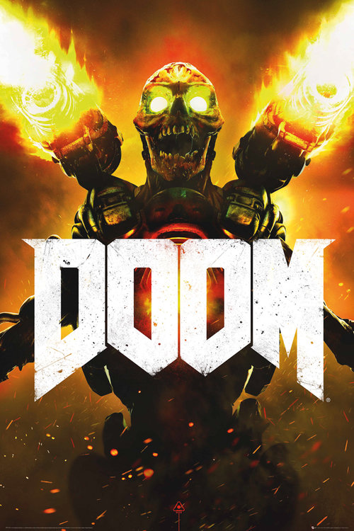 Doom Key Art Maxi Poster