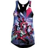 Deadpool Girlie Tank Top Art