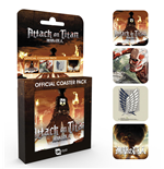 Attack on Titan Coaster Mix 4-Pack