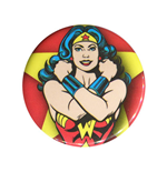 WONDER WOMAN Power Bracelets Red Button