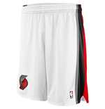 adidas Portland Trail Blazers New Swingman White Shorts