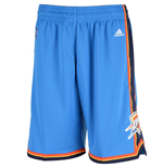 adidas Oklahoma City Thunder New Swingman Light Blue Shorts