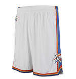 adidas Oklahoma City Thunder New Swingman White Shorts