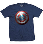 Captain America Civil War T-Shirt Clawed Shield