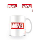 Marvel Comics Mug Logo White