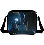 Batman v Superman Dawn of Justice Shoulder Bag Faces
