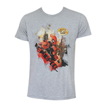 DEADPOOL Outta The Way Grey Shirt