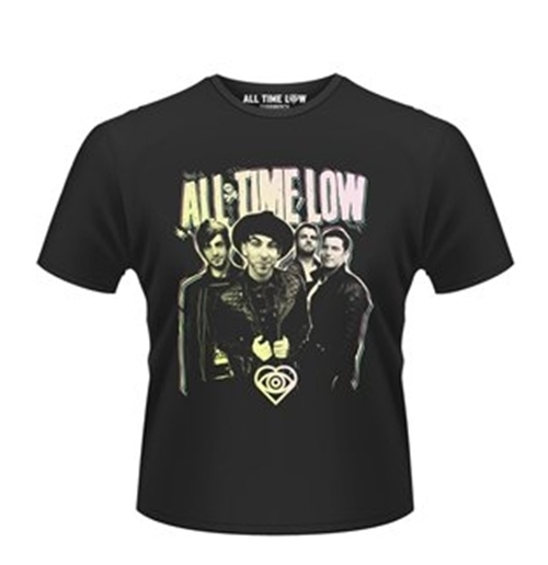 All Time Low T-shirt Neon Photo