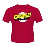 Big Bang Theory T-shirt Bazinga