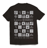 Game Of Thrones T-shirt You Win Or You Die