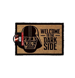 STAR WARS Darth Vader 'Welcome to the Dark Side' Door Mat, Tan/Black