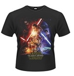 Star Wars The Force Awakens T-shirt Force Awakens Poster