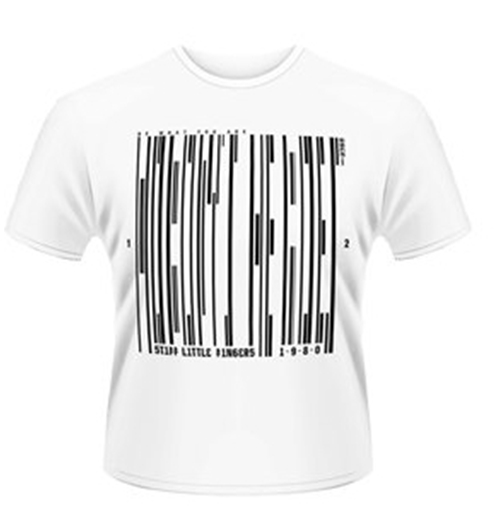 Stiff Little Fingers T-shirt Barcode