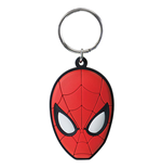SPIDERMAN Rubber Face Keychain