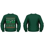 Sleeping With Sirens Sweatshirt Christmas Trees