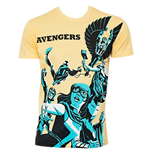 Men's Cotton Blend AVENGERS Michael Cho Art T-Shirt