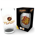 Flash Pint Glass Logo