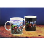 Marvel Comics Heat Change Mug Avengers