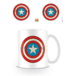 Marvel Retro Mug Captain America Sheild