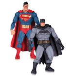 The Dark Knight Returns Action Figure 2-Pack Superman & Batman 30th Anniversary 17 cm