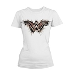 Wonder Woman T-shirt Splatter Logo