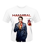 Hannibal T-shirt FIG. 1 Heart (WHITE)