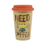 Minions Travel Mug Need Coffee