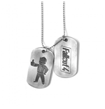 Fallout Dog Tag Necklace 200822