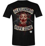 The Walking Dead T-shirt - Safe Zone Faux Patches