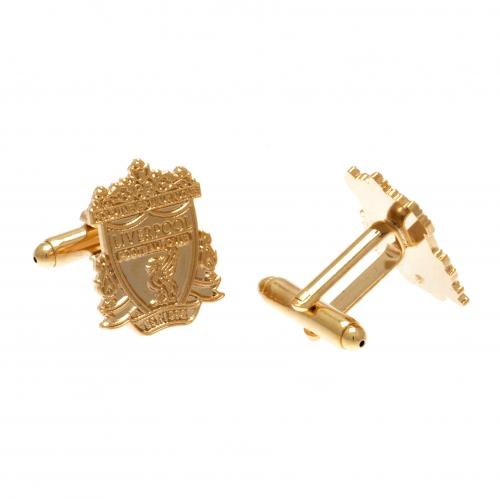 Liverpool F.C. Gold Plated Cufflinks