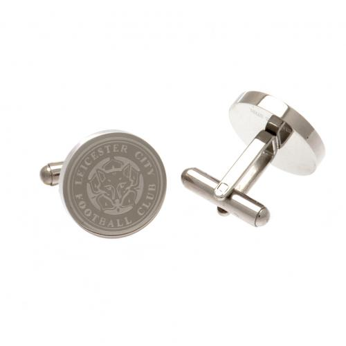 Leicester City F.C. Stainless Steel Cufflinks CR