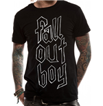 Fall Out Boy - Text Logo T-shirt