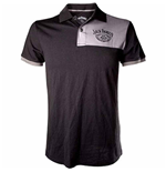 Jack Daniel's Polo shirt Grey Patch With Logo