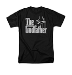The Godfather Logo Black T-Shirt