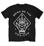 Bring Me The Horizon - Diamond Hand Black T-shirt (Unisex)