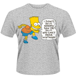 The Simpsons - DIDN'T Do It T-shirt (Unisex)