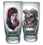 Day Of The Dead Glassware 208047