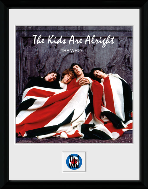 The Who The Kids Are Alright Framed Collector Print