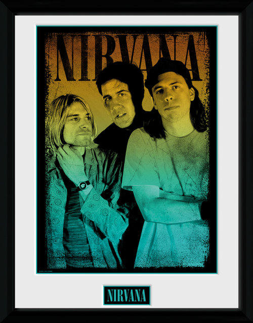 Nirvana Gradient Framed Collector Print