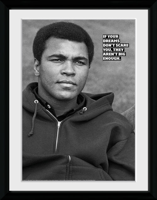 Muhammad Ali Dreams Framed Collector Print