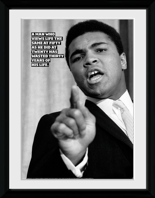 Muhammad Ali Life Framed Collector Print