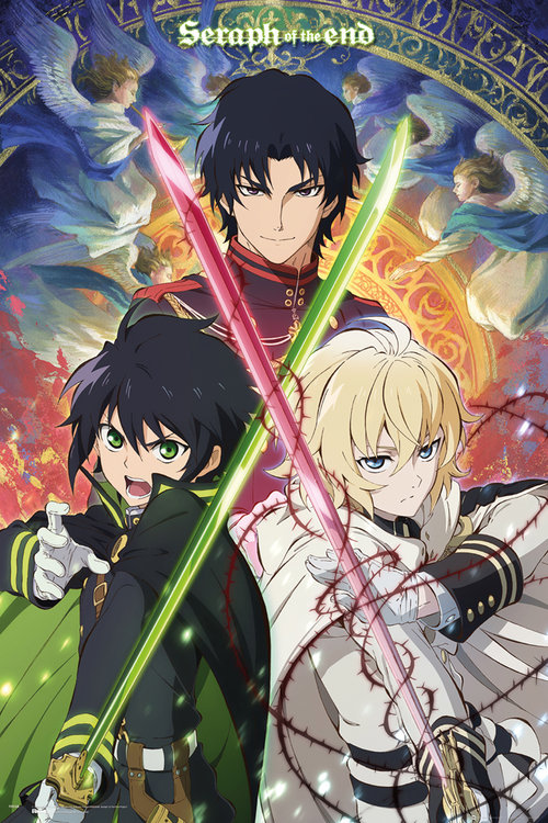 Seraph Of The End Trio Maxi Poster