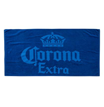 Corona Blue Beach Towel