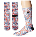 Men's Cotton BUDWEISER All Over Print Socks
