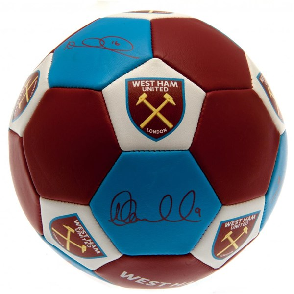West Ham United F.C. Nuskin Football Size 3