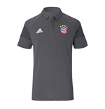 2016-2017 Bayern Munich Adidas Polo Shirt (Granite)