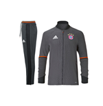 2016-2017 Bayern Munich Adidas Training Suit (Granite)