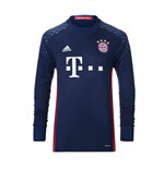 2016-2017 Bayern Munich Home Adidas Goalkeeper Shirt